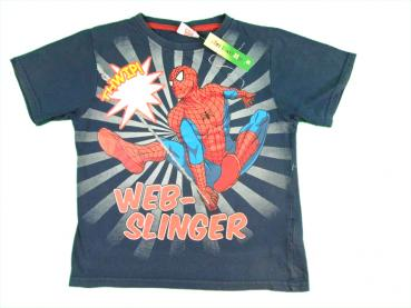 T-Shirt Gr. 116/122 Mavel blau Spiderman